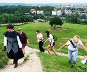 Wspinaczka na Kopiec Kraka - Gra terenowa Kraków Podgórze