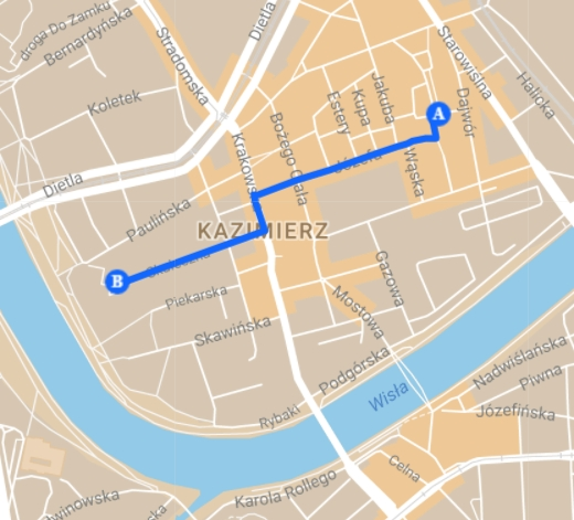 Trasa: Kazimierz