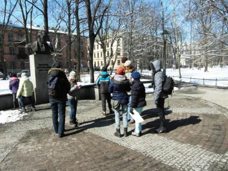 Gra miejska w Krakowie - pierwsza lokacja