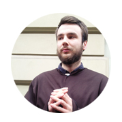 Piotr - współorganizuje gry miejskie w Krakowie.
