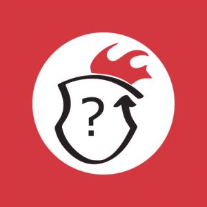 logo gry miejskie - znak zapytania